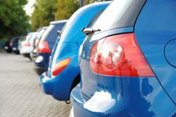 Autos werden in PKW Typklassen eingeteilt
