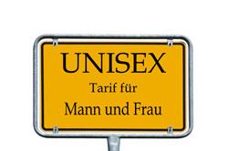 Viele wissen über die Unisex-Tarife nicht Bescheid