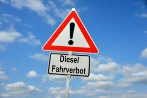 Fahrverbot für Diesel-Autos