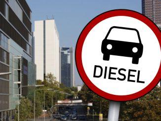 Diesel Auto Fahrverbot
